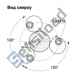 Тензодатчик HBM C16i C3 30T