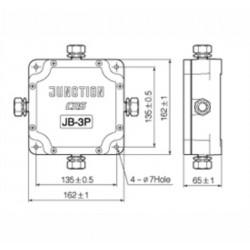 Сумматор для тензодатчиков CAS JB-3P