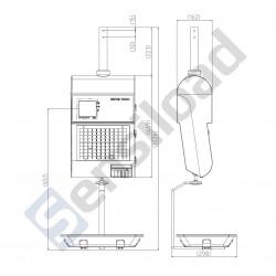 Весы подвесные METTLER TOLEDO bPlus-H2