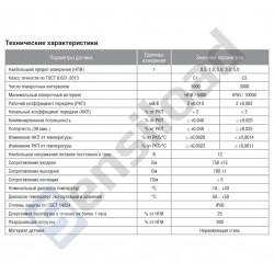 Тензодатчик мембранный Тензо-М М50