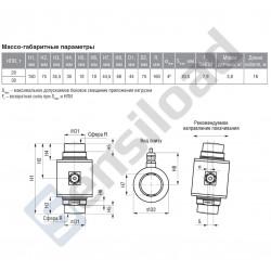 Цифровой тензодатчик колонного типа Тензо-М МВЦ